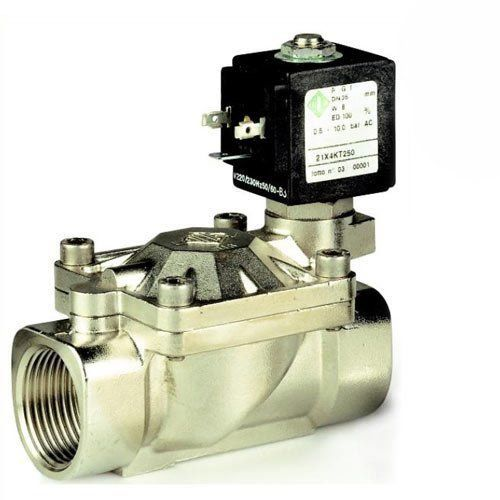 c9bd6e1e7e9 Клапан электромагнитный ODE 21X2KT120 непрямого действия НЗ 1 2 ...