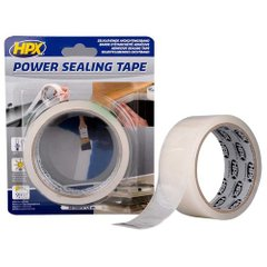 Лента для герметизации шва HPX POWER SEALING TAPE 38мм x 1,5м белая